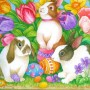 Easter Happy Bunnies 1514