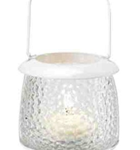 Daylight/Tealight Lantern, Summer White