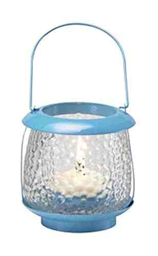 Click to open expanded view        Biedermann & Sons Playa Daylight/Tealight Lantern