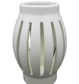 White Tea Light Lantern