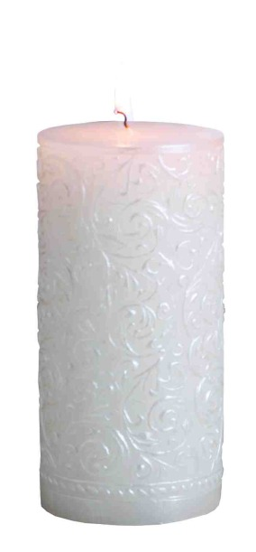 Pearl Pillar Candle
