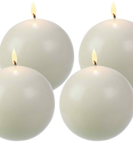 3-Inch Diameter Ball Candles