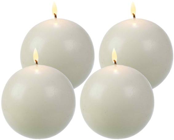 3-Inch Diameter Ball Candles