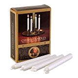 Chime Candle replacements - 20 white candles for Angel Chimes